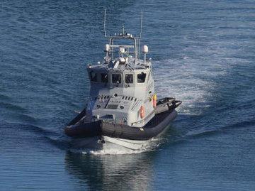 В проливе Ла-Манш перехватили лодку с нелегальными мигрантами