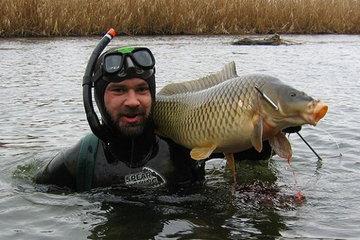 Что нужно знать о подводной охоте на сома