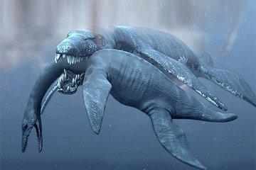 Страшные доисторические обитатели водоемов