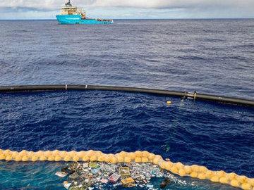 Тихий океан глобально почистят с помощью новейшего аппарата