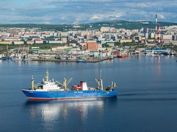Рыбный порт в Мурманске увеличил грузооборот в сентябре на 75%