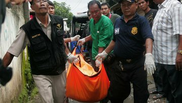 На Бали убили двух российских грабителей