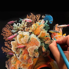 Рыбацкие фантазии американской художницы