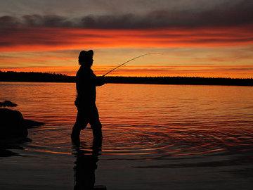 Рыбачим ночью. Экстремально и продуктивно