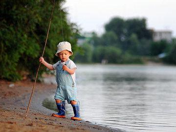 Рыбалка приучает детей к дисциплине