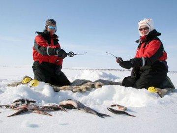 Кислород и зимняя рыбалка