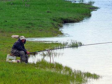 Лучшее время для рыбалки - весна