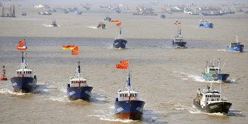 Китайские рыбаки могут спровоцировать военный конфликт