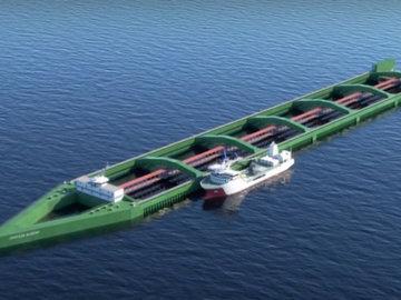 В Норвегии построят самое большое судно