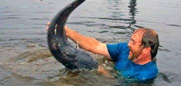 Можно ли поймать рыбу без сетей и удочки?