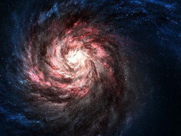 Галактика питается другими галактиками