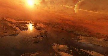 На Титане существуют пересыхающие озера