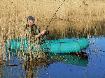 Ловля рыбы в камышах