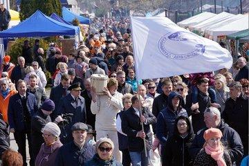 В Калининграде справили день селедки