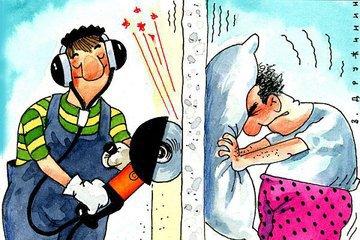 Шуметь можно будет только в новогоднюю ночь