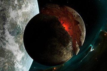Планета K2-22b разваливается на куски
