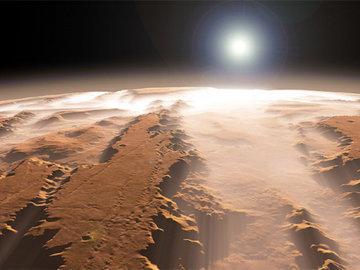 На Марсе нашли озера, но рыбы там нет