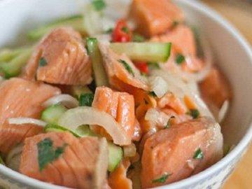 Рыбный хе для любителей корейской кухни