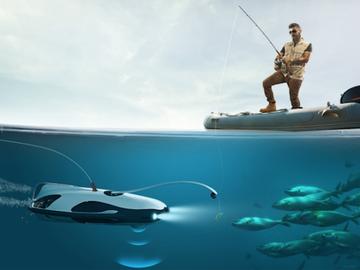 Компания PowerVision сделала беспилотник для рыбаков