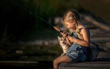 Блоггеры утверждают, что рыбалка – женское занятие